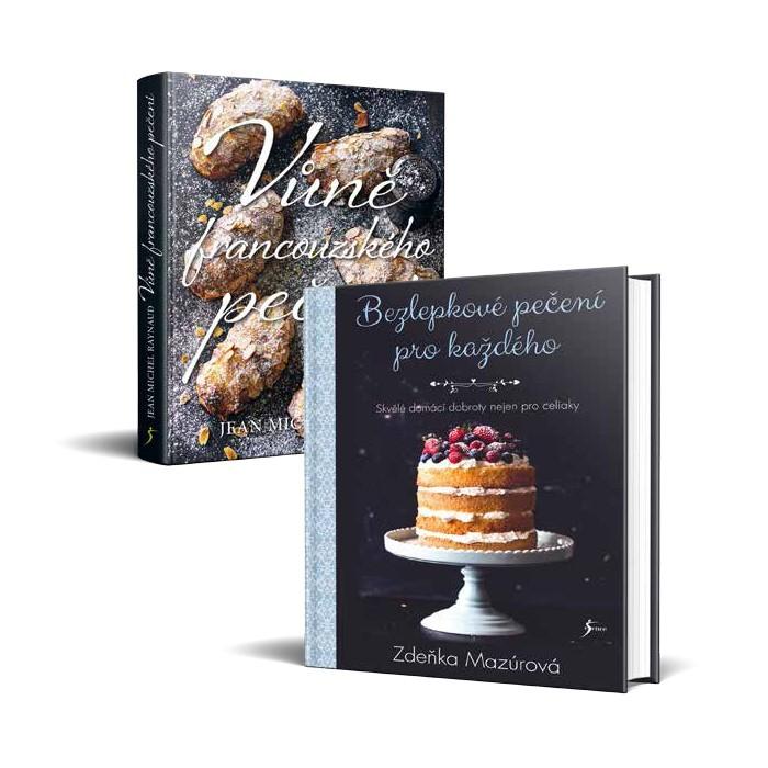 Dvě kulinářské knihy v hodnotě 798 Kč