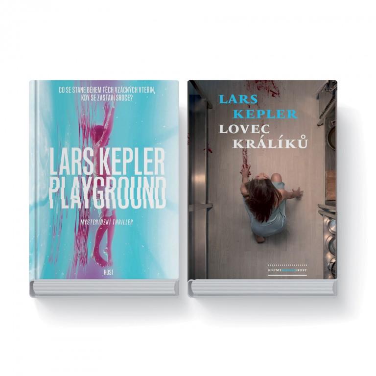Dvě knihy Lars Kepler v hodnotě