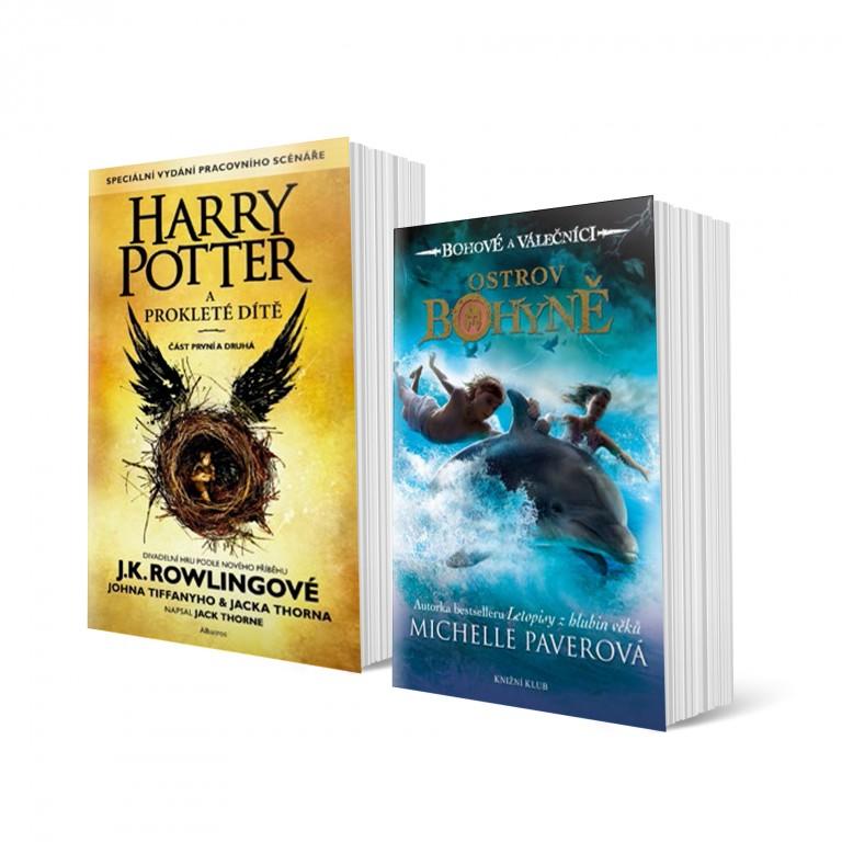 Harry Potter a prokleté dítě a Bohové a válečníci: Ostrov bohyně