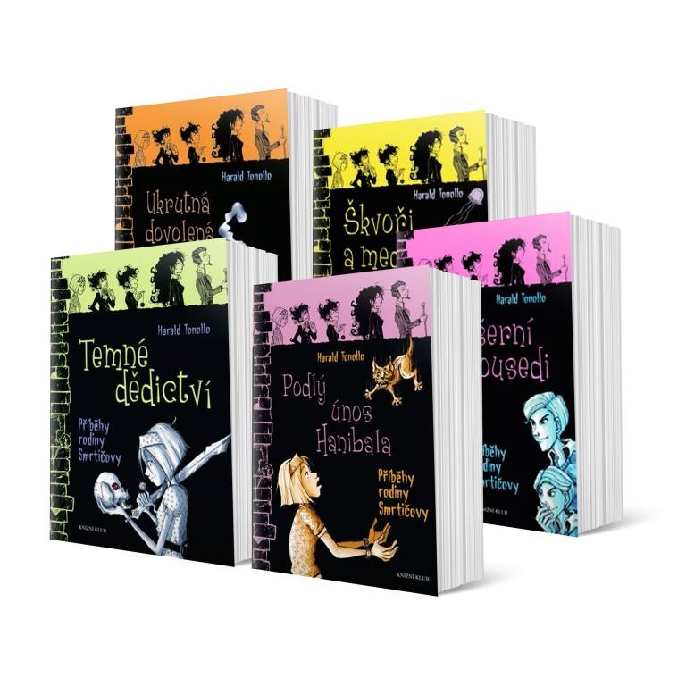 Příběhy rodiny Smrtičovy (5 dílů)
