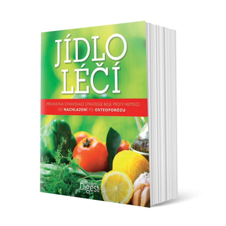 Kniha Jídlo léčí v hodnotě 897 Kč