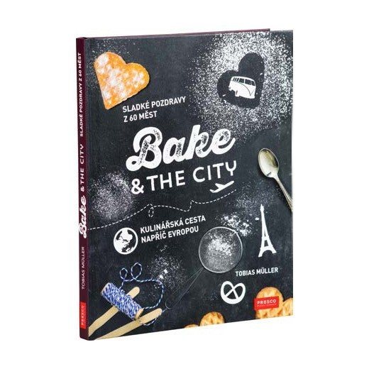 Kniha Bake & the city