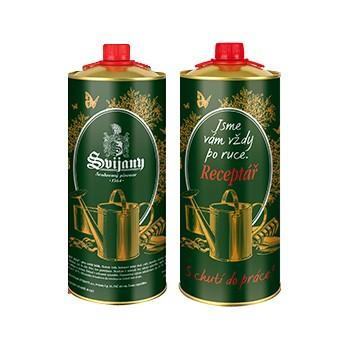 Dvě dvoulitrové plechovky piva Svijany