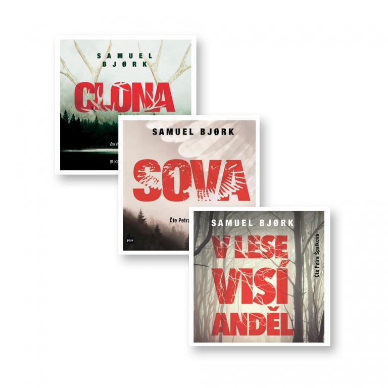 3 audioknihy od Samuela Bjørka