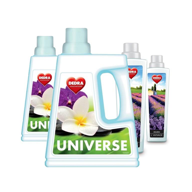 Dedra 2x gel na praní a 2x aviváž