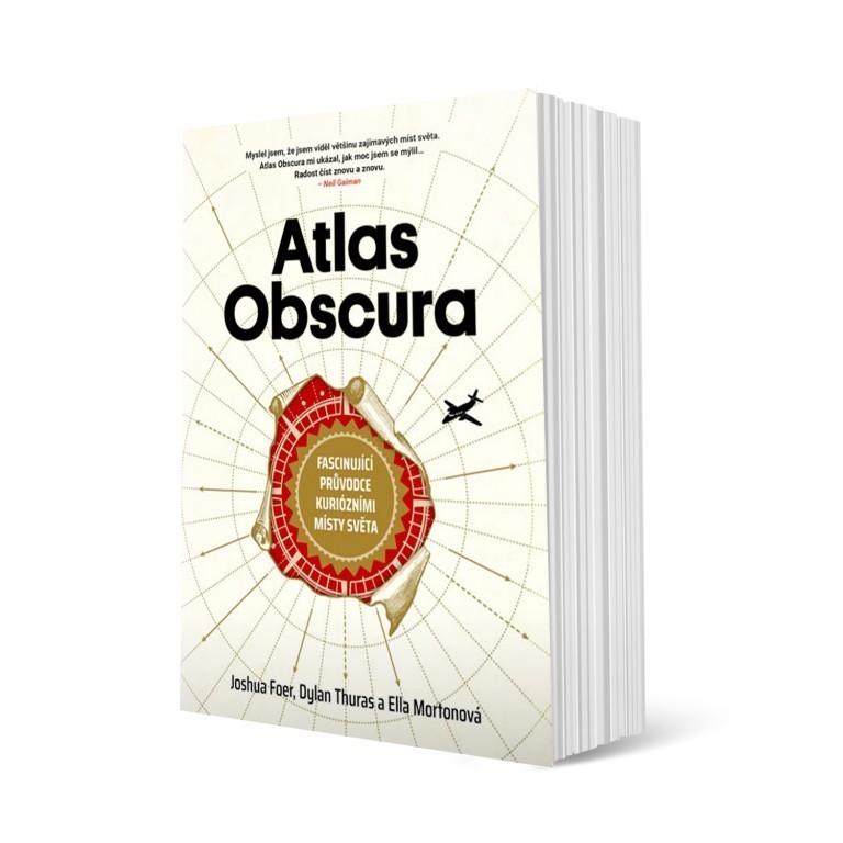 Atlas Obscura v hodnotě 1290 Kč