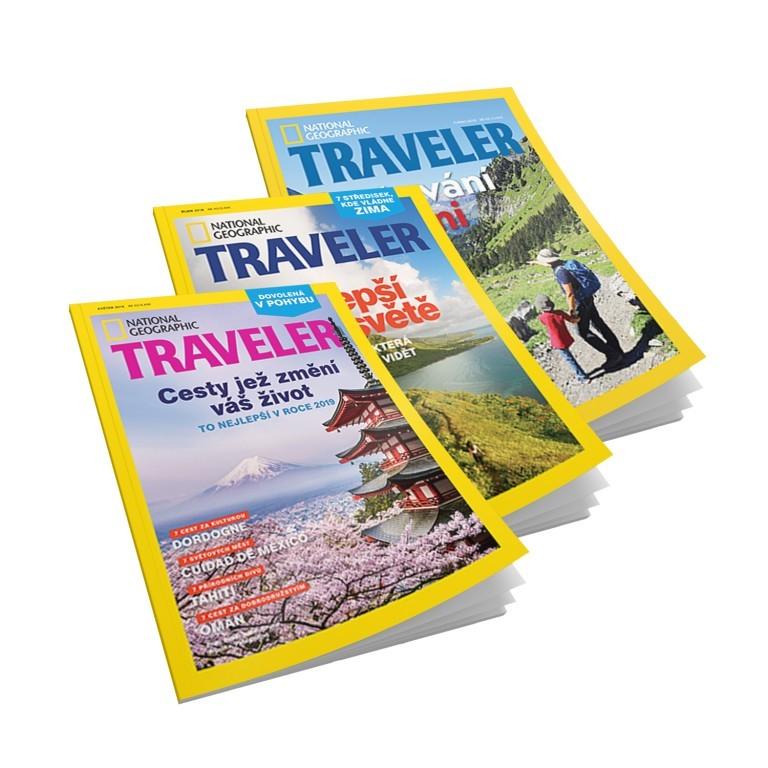 Časopisy Traveler v hodnotě 297 Kč