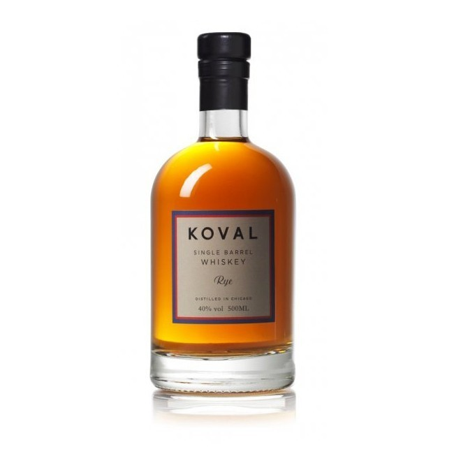Whiskey Koval Rye v hodnotě 950 Kč