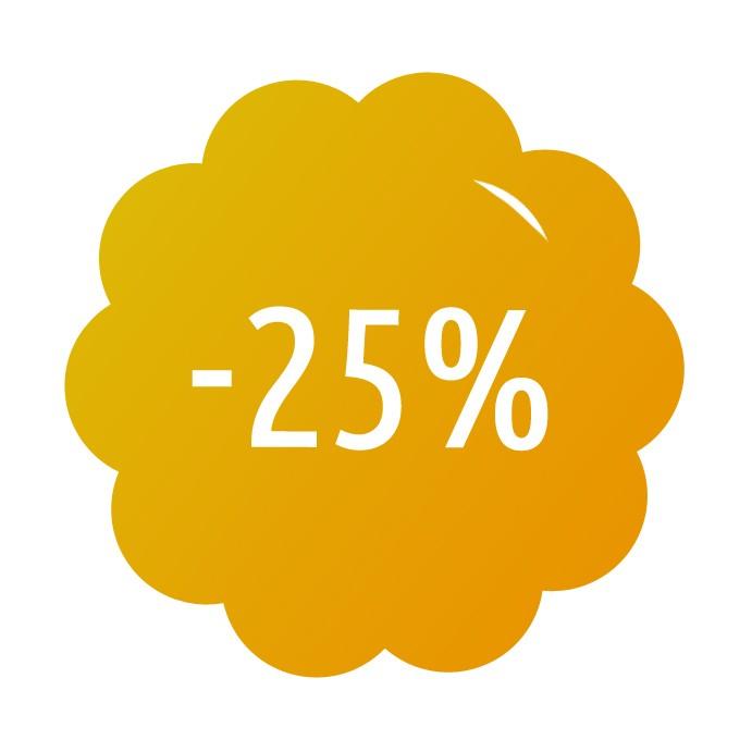 Sleva 25% pro nové předplatitele