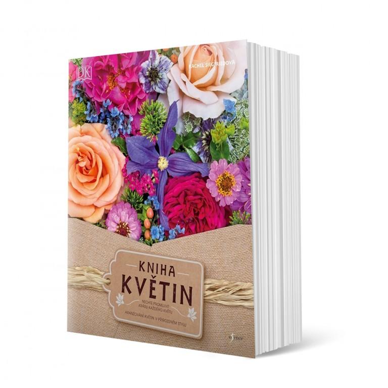 Kniha květin v hodnotě 499 Kč