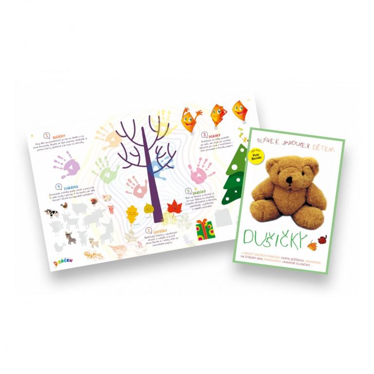 Plakát Dráček a CD s písničkami pro děti