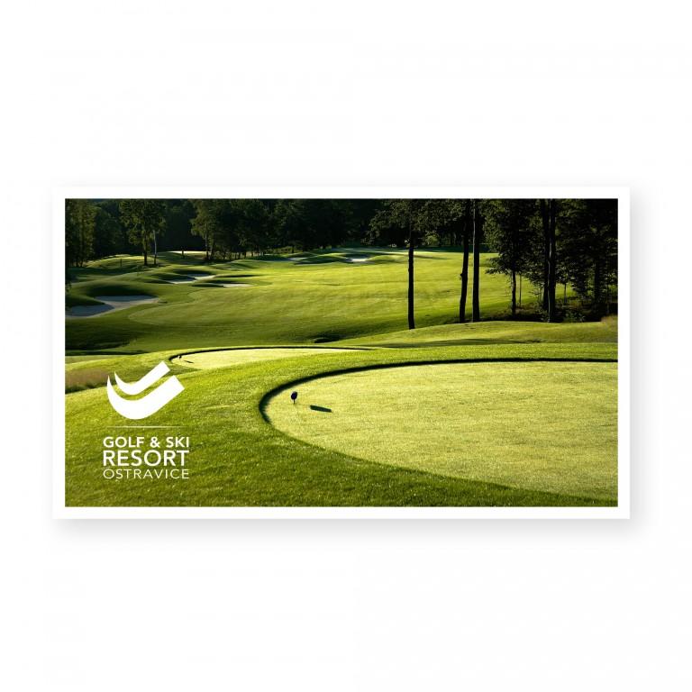 Voucher pro jednu osobu na green fee Golf Club Ostravice v hodnotě 1 590 Kč