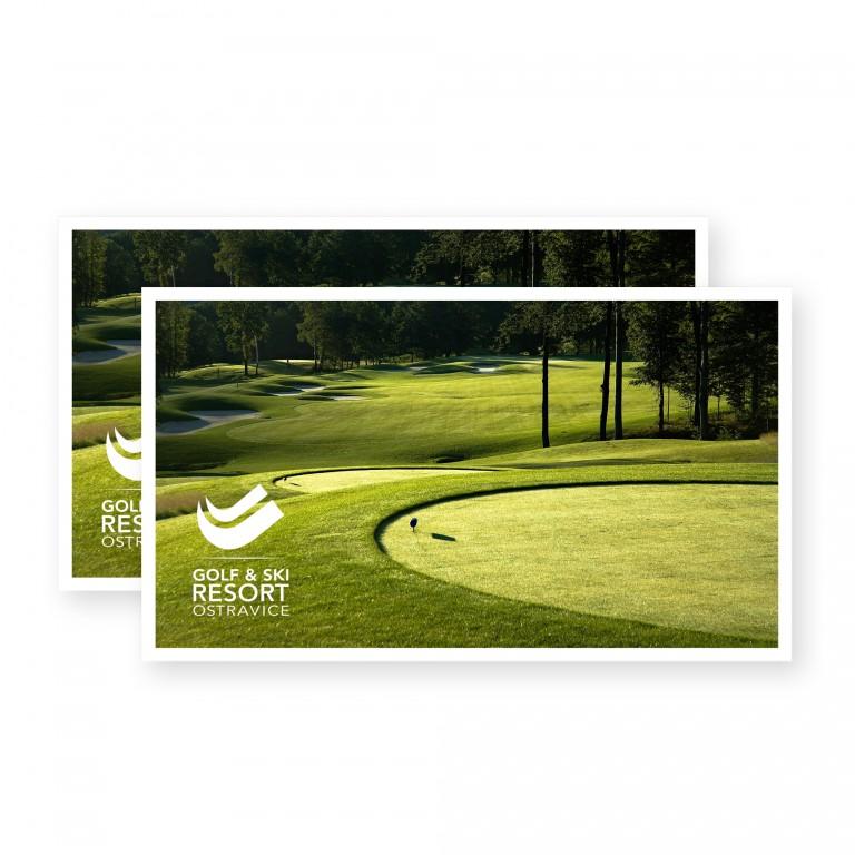 Voucher pro dvě osoby na green fee Golf Club Ostravice v hodnotě 3 180 Kč