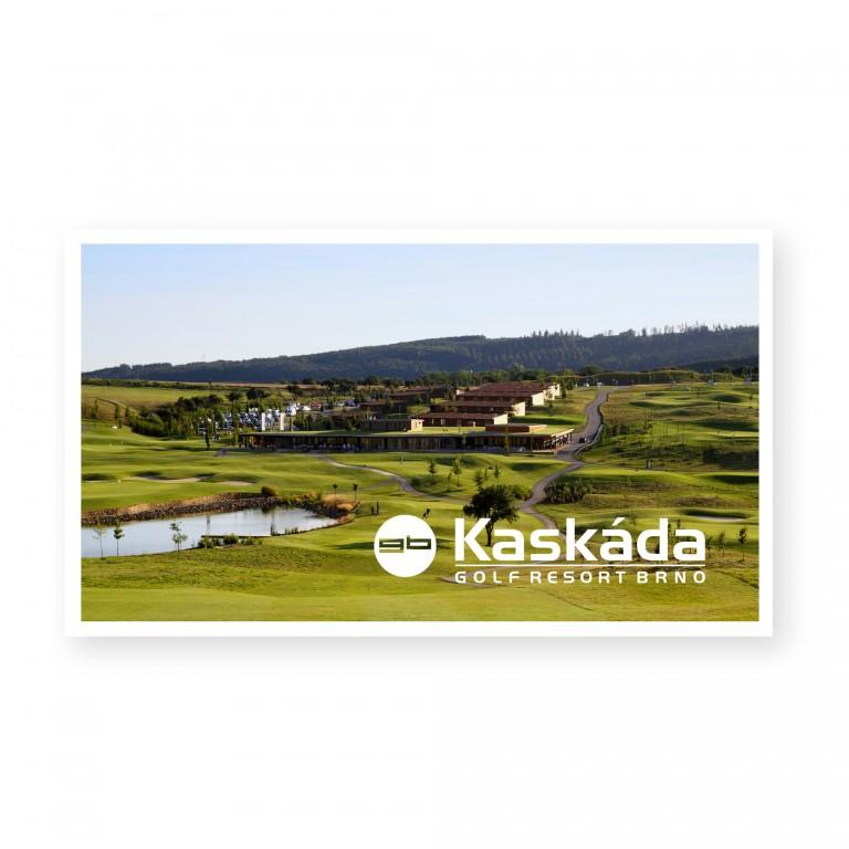 Voucher pro jednu osobu na green fee Golf Resort Kaskáda Brno 1 775 Kč