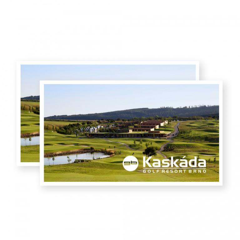 Voucher pro dvě osoby na green fee Golf Resort Kaskáda Brno v hodnotě 3 550 Kč