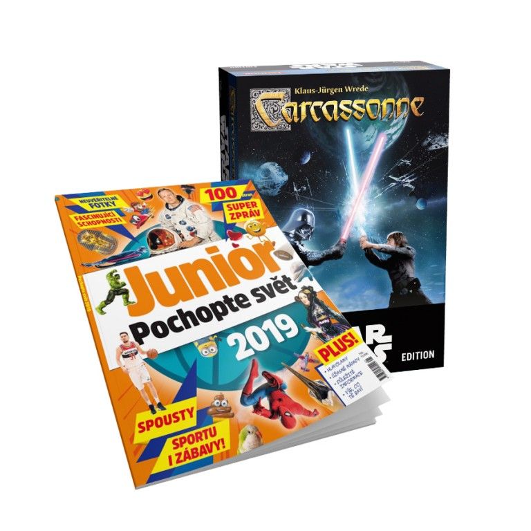 Hra Star Wars a Ročenka Junior 2019