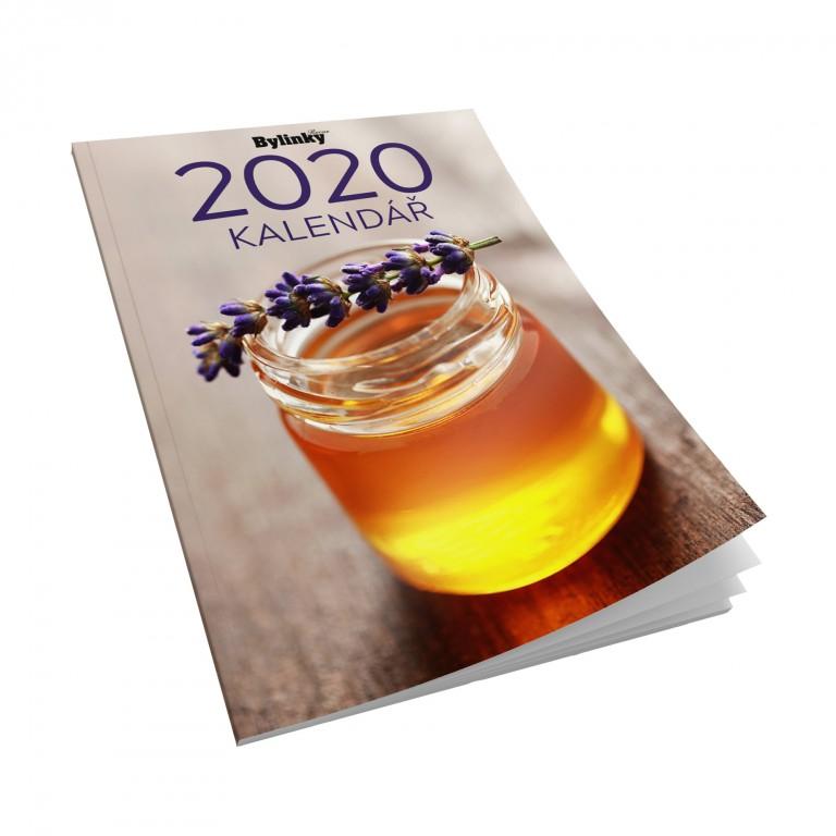 Dárek: Kapesní diář Bylinky Revue 2020