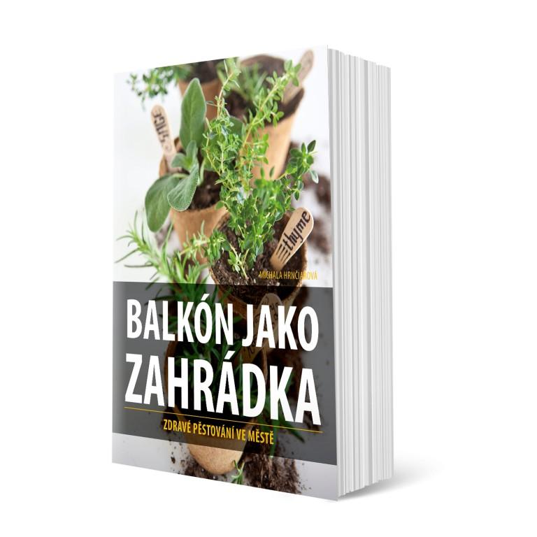 Kniha Balkón jako zahrádka