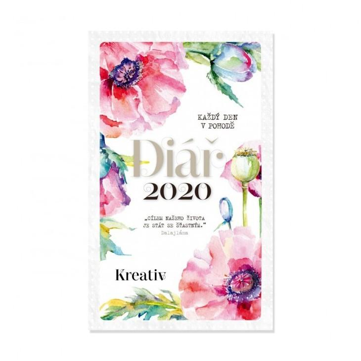 Diář Kreativ 2020 v hodnotě 365 Kč