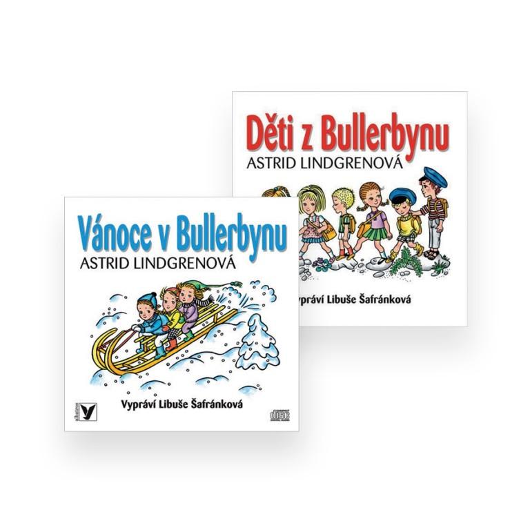 Audioknihy Děti z Bullerbynu a Vánoce v Bullerbynu v hodnotě 448 Kč