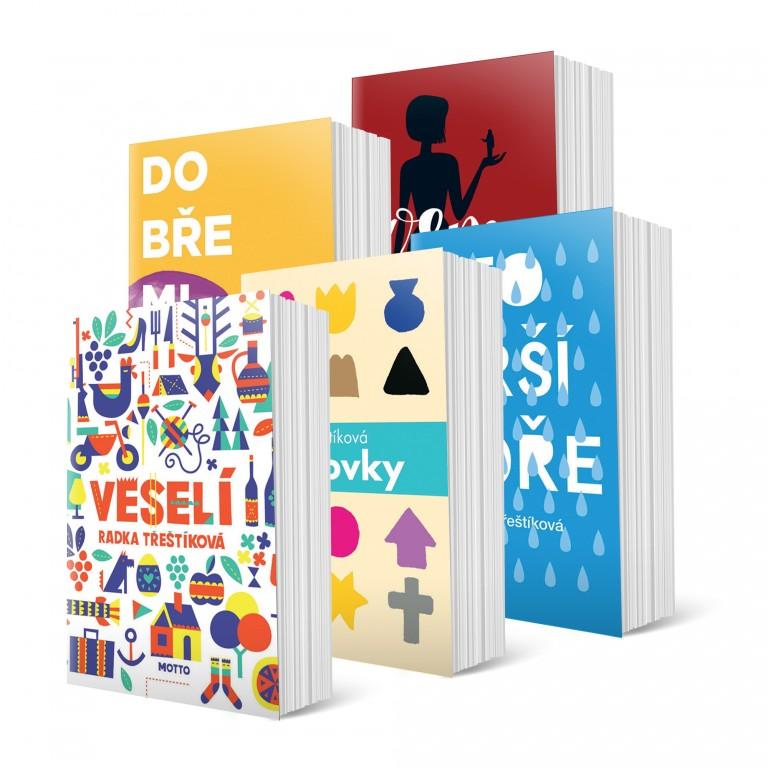 Bestsellery od Radky Třeštíkové v hodnotě 1 445 Kč