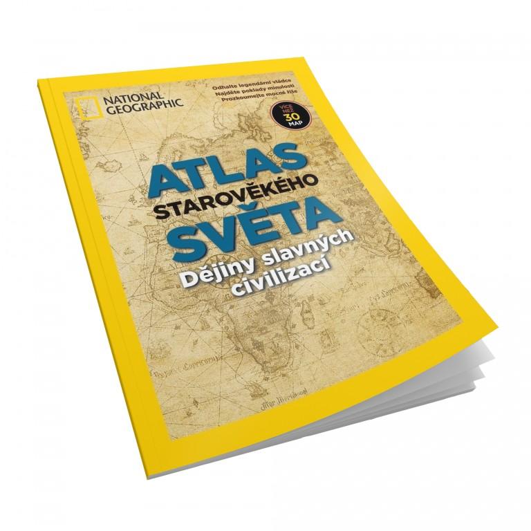 Atlas starověkého světa v hodnotě 149 Kč