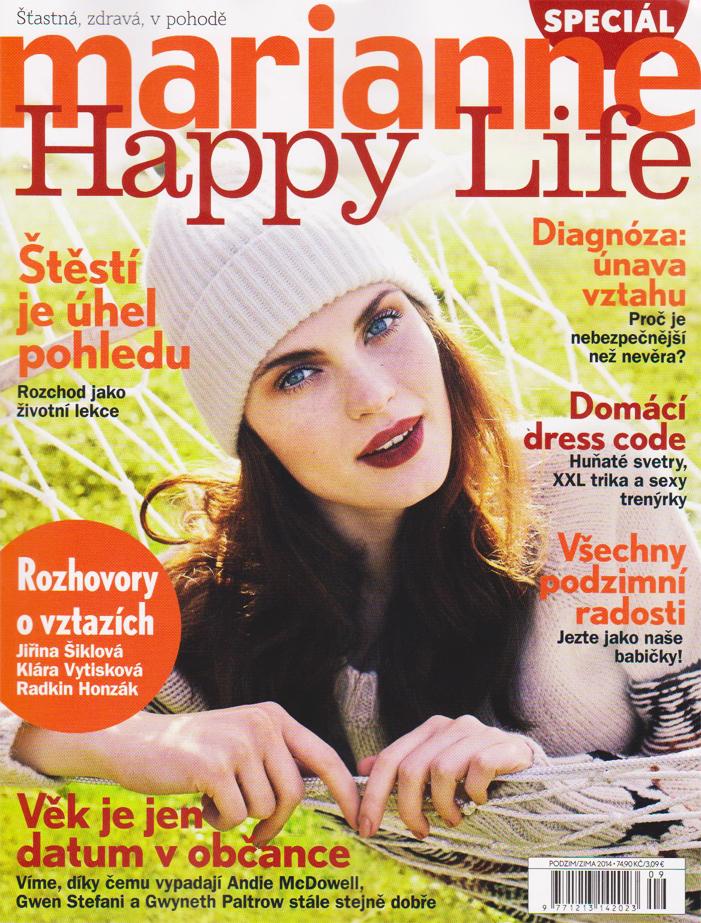 Vychází speciál časopisu Marianne Happy Life - Předplatné časopisů ... 30a06a0617