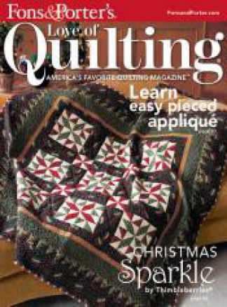 Fons & Porter's Love of Quilting 1/2014