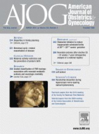 American Journal of Obstetrics and Gynecology 1/2014