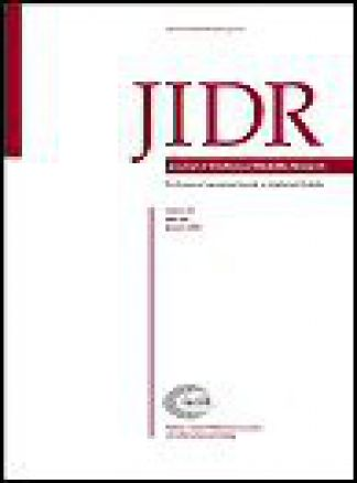 Journal of Intellectual Disability Research 1/2014