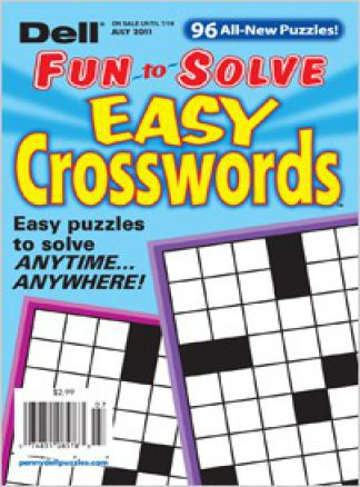 Dell Fun to Solve Easy Crosswords 1/2014
