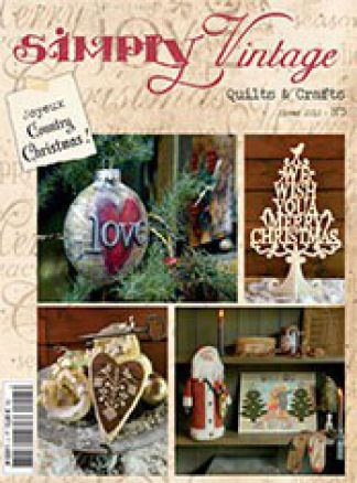 Simply Vintage Quilts & crafts 1/2014