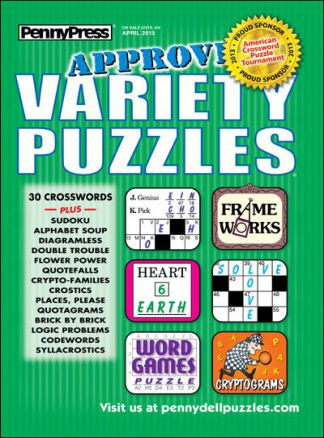 Approved Variety Puzzles 1/2014