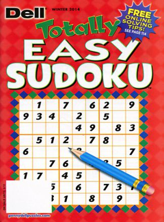 Totally Easy Sudoku  1/2014