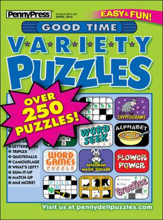 Good Time Variety Puzzles 1/2014