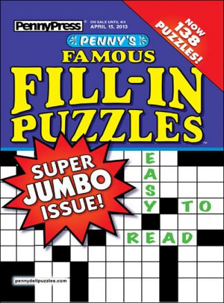 Penny's Famous Fill-In Puzzles 1/2014