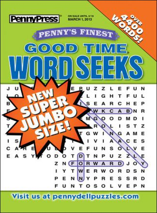 Penny's Finest Good Time Word Seeks 1/2014