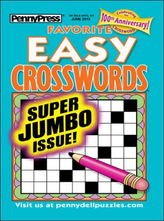 Favorite Easy Crosswords 1/2014