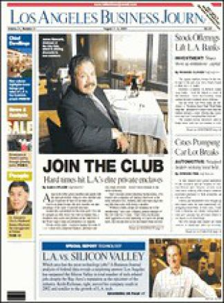 Los Angeles Business Journal 1/2014