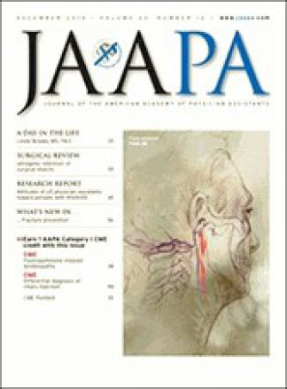 Journal of the American Academy of Physician Assistants (JAAPA) 1/2014