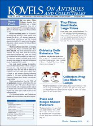 Kovels on Antiques and Collectibles 1/2014