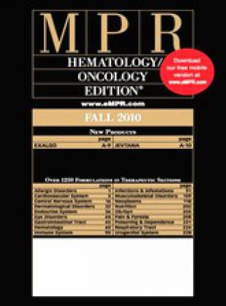 MPR Hematology/Oncology Edition 1/2014