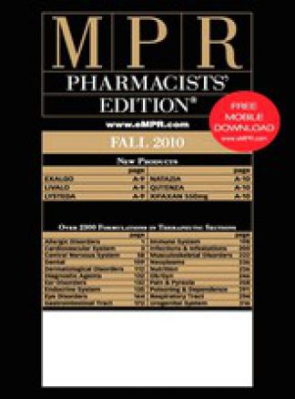 MPR Pharmacists' Edition 1/2014