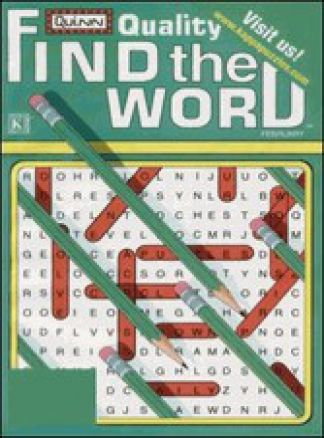 Quality Find the Word 1/2014