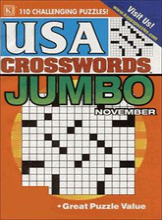 USA Crosswords Jumbo 1/2014