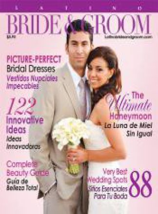 Latino Bride & Groom 1/2014