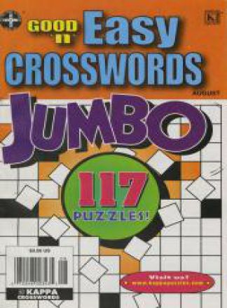 Good 'n' Easy Crosswords Jumbo 1/2014