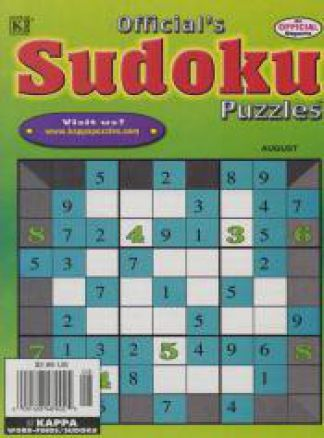 Official's Sudoku Puzzles 1/2014