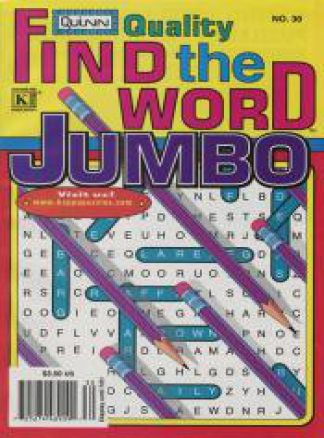 Quality Find the Word Jumbo 1/2014