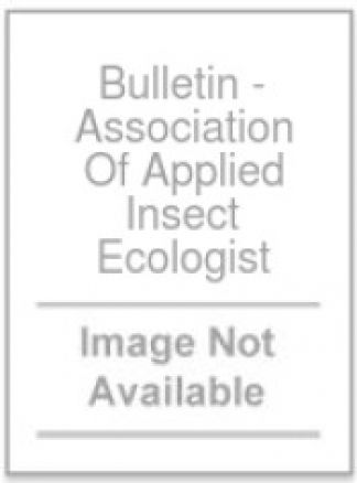 Bulletin - Association Of Applied Insect Ecologist 1/2014